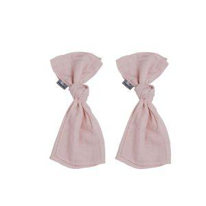 Lange bébé Sparkling rose très clair - 65x65 - 2-pack