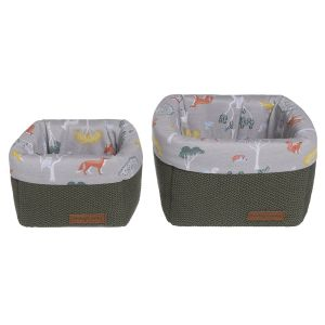 Paniers de commode Forest khaki