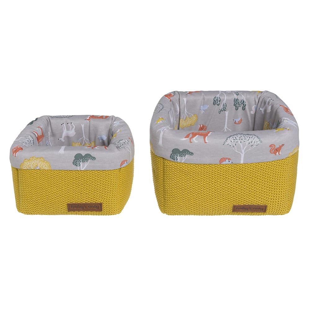 paniers de commode forest mustard