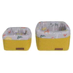 Paniers de commode Forest mustard