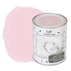 Peinture murale rose - 1 litre