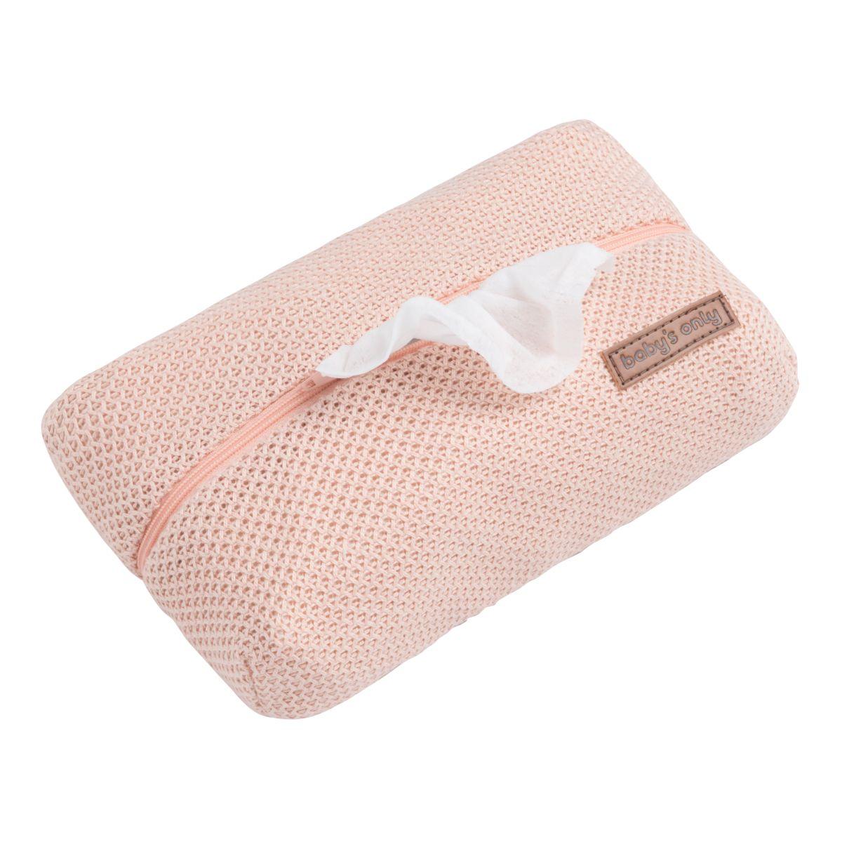 pochette lingette bb classic blush