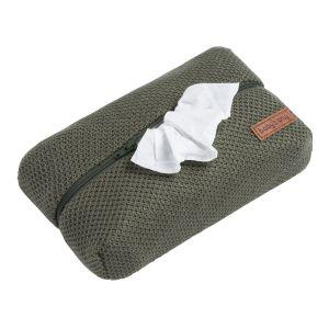 Pochette lingette bébé Classic khaki