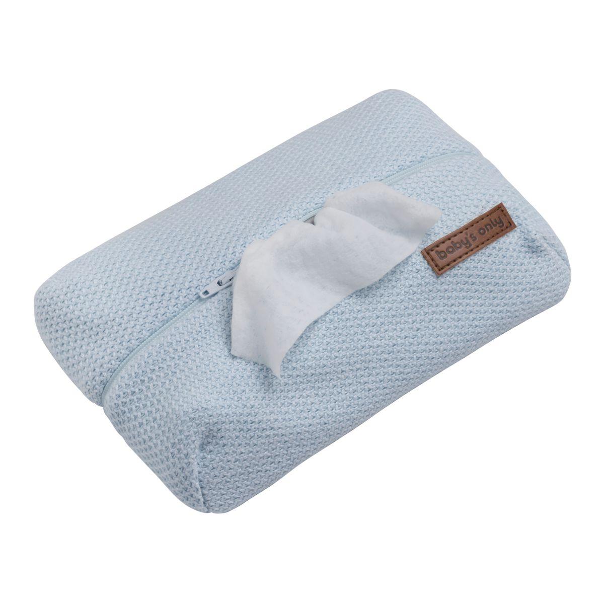 pochette lingette bb classic poudre bleu