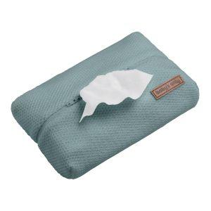 Pochette lingette bébé Classic stonegreen