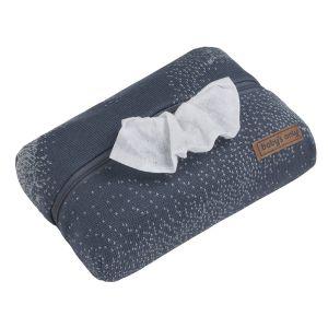 Pochette lingette bébé Marble granit/gris