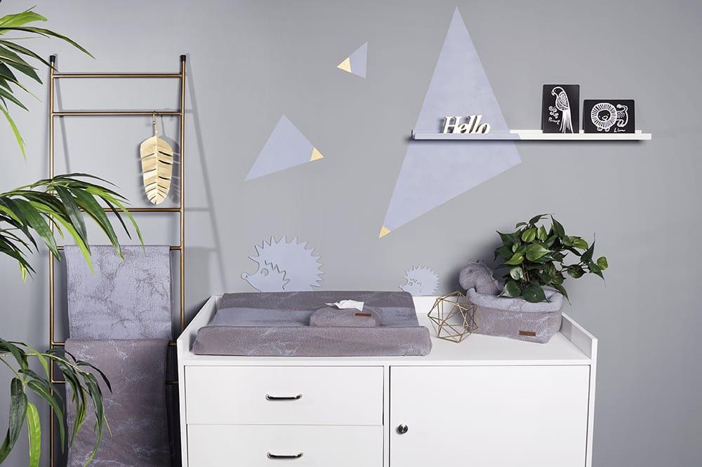pochette lingette bb marble granitgris