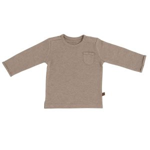 Pullover Melange clay - 50