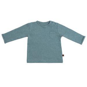 Pullover Melange stonegreen - 50