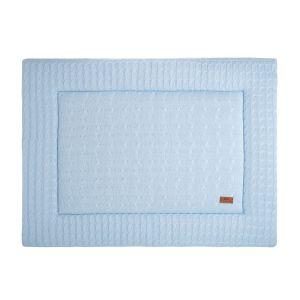 Tapis de parc Cable bleu ciel - 75x95