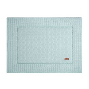 Tapis de parc Cable mint - 75x95