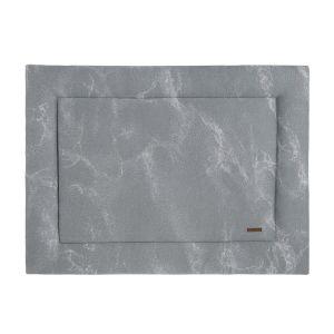 Tapis de parc Marble gris/gris argenté - 75x95