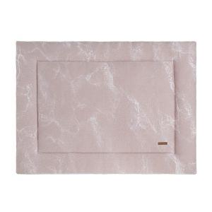 Tapis de parc Marble vieux rose/rose très clair - 75x95