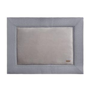 Tapis de parc Sparkle gris-argent mêlé - 75x95