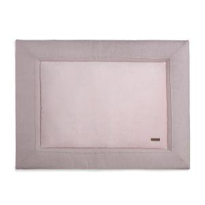 Tapis de parc Sparkle rose-argent mêlé - 75x95