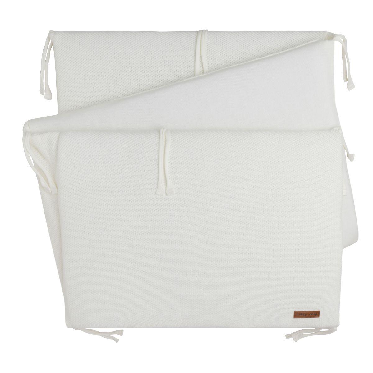tour de lit classic blanc cass