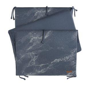 Tour de lit Marble granit/gris
