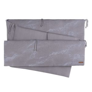 Tour de parc Marble cool grey/lilas