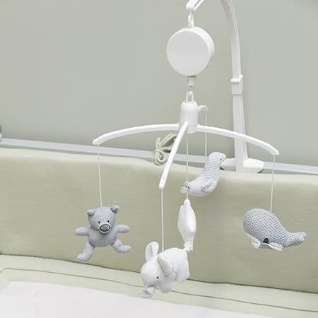 Babys Only Musique Mobile Classique Rose//Blanc